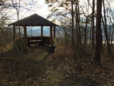 Pavillon Aussichtspunkt