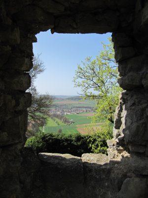 Ausblick von der Homburg