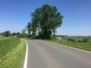 Idyllische Landstraßen