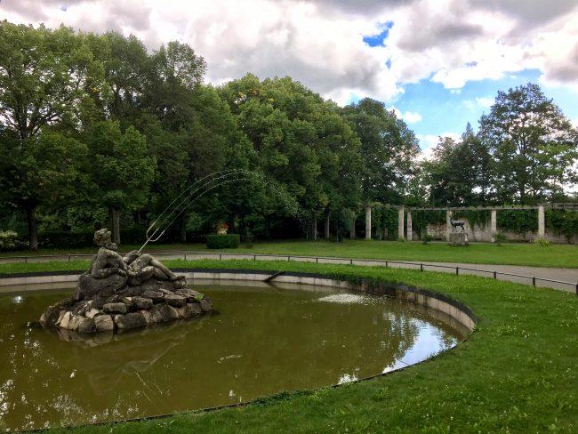 Neptunbrunnen Schloss Schwanberg