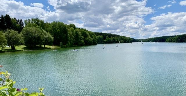 Ausblick Ellertshäuser See